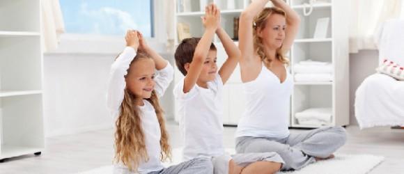 Yoga bei Kindern